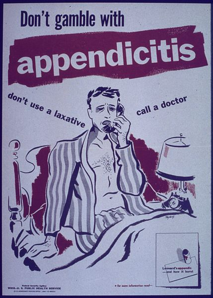 Don't Gamble with Appendicitis